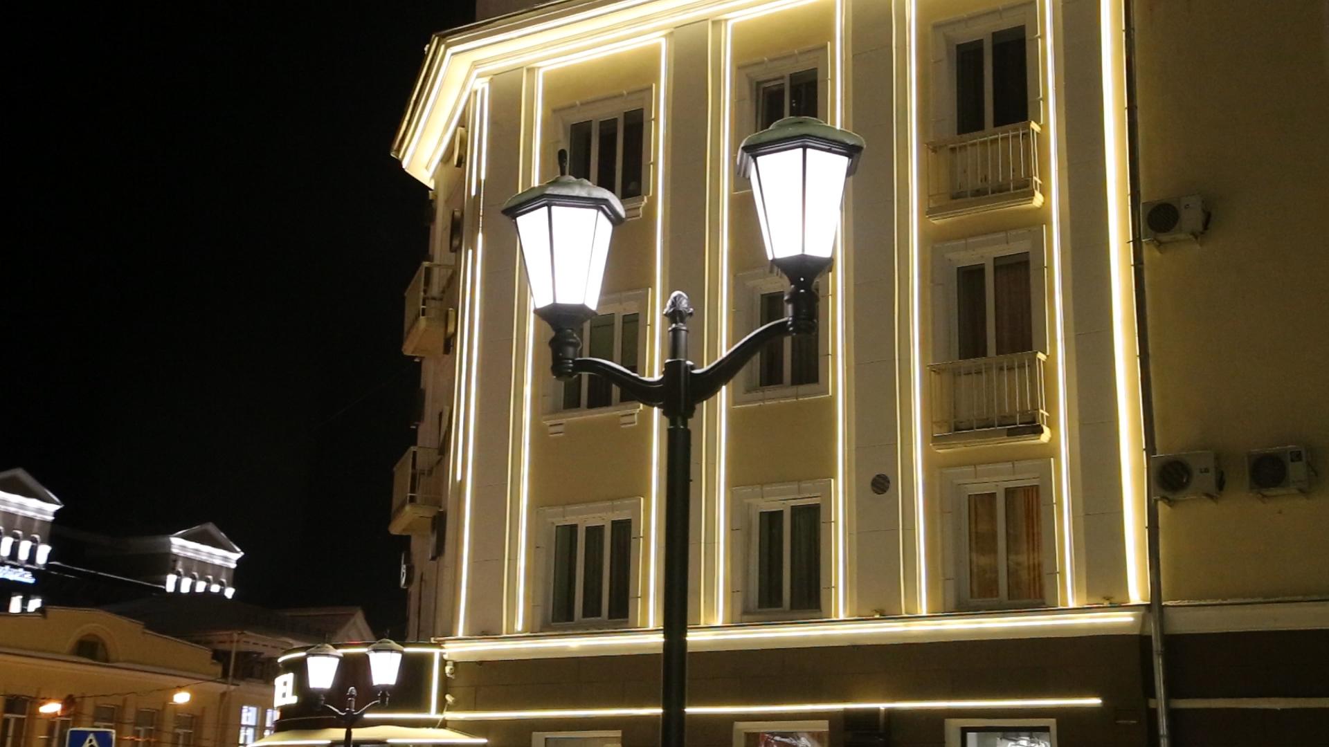 Светодиодные уличные лампы для деревьев